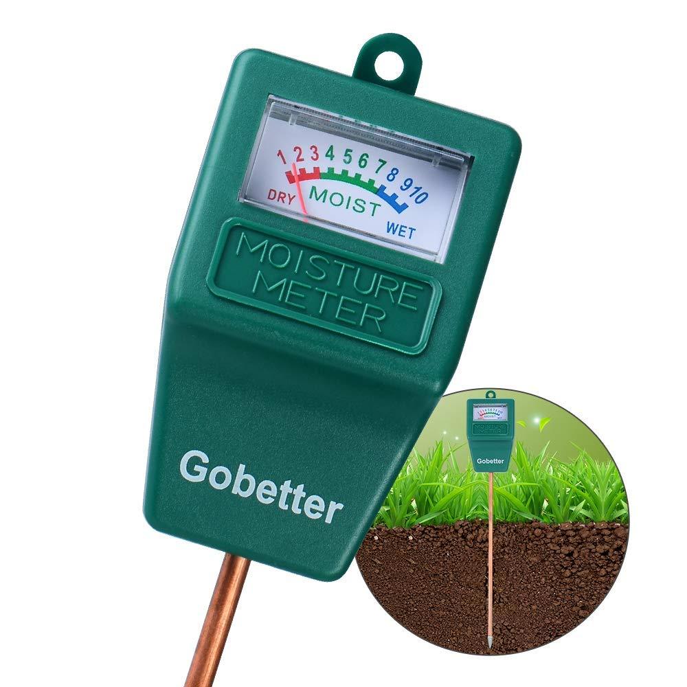 Soil Moisture Meter, Soil Test Kit for Gardens, Soil Moisture Sensor Meter Long Probe, Yard Moisture Meter for Plants/Flowers/ Vegetable/Yard/ Lawn