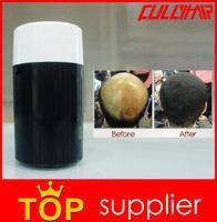 Hair Powder Bottle OEM Hair Building Fibers Product Black Color