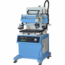 Plane stationery rulers screen printing machine for solar cell flat screen printer