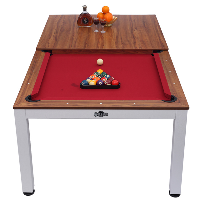 2018 Hot Selling 7ft Function Pool Dining Table 2 In 1 Handheld Multi Game