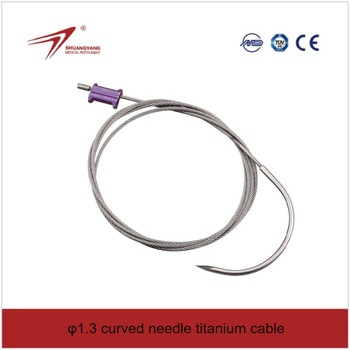 anium Cable For Trauma Internal Fixation Orthopedic Cerclage Wire - on