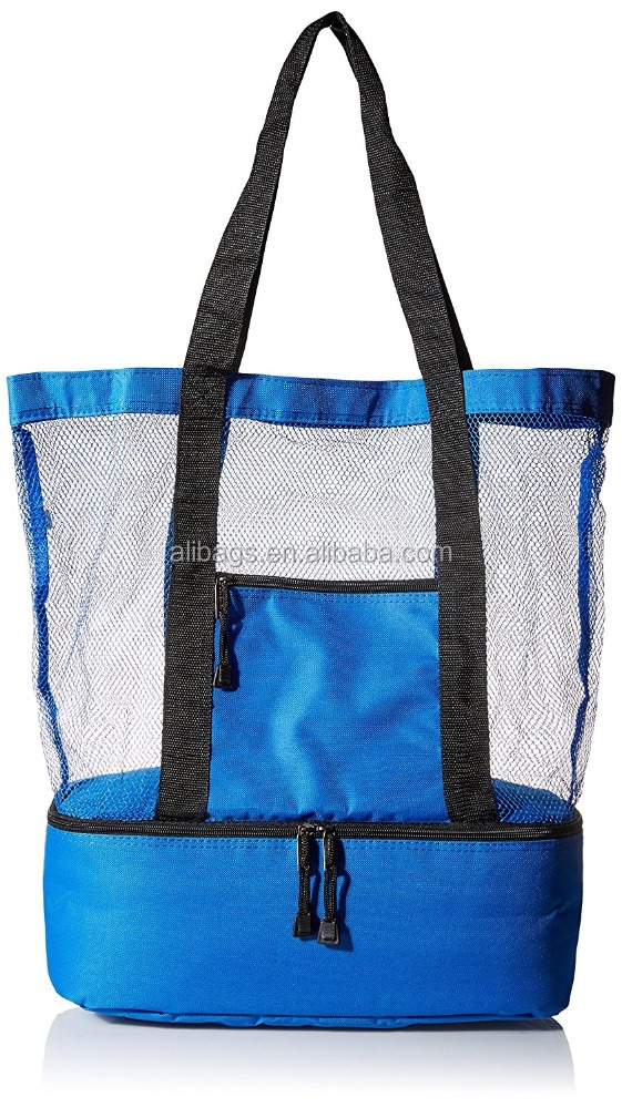 Premium Beach Tote Bag With Insulated cheap Cooler Bag