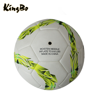 Promotional laminated sewing machine football pu/pvc/tpu soccer ball