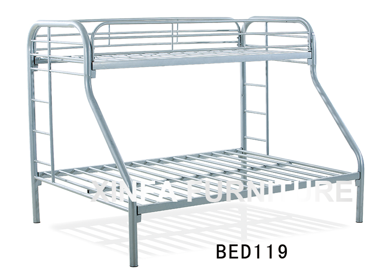 Cheap Double Decker Metal Bed Frame Pull Down Safty Adult Bunk Beds