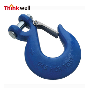 Forged Alloy Steel Clevis Slip Hook with Safety Latch