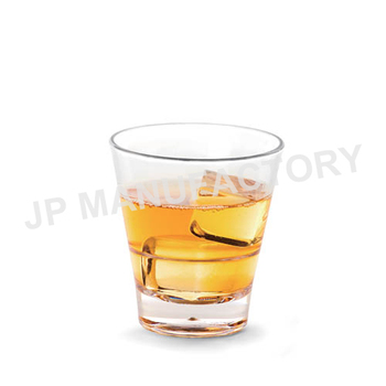 Polycarbonate Barware Whisky Glass