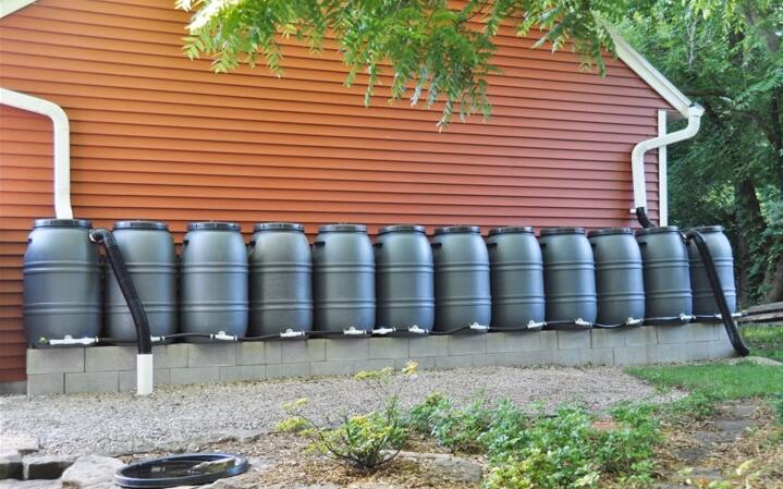 HDPE Plastic Chemical Barrel Drum Rainwater Barrel