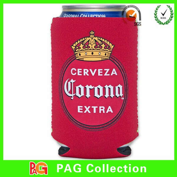 custom collapsible can cooler neoprene