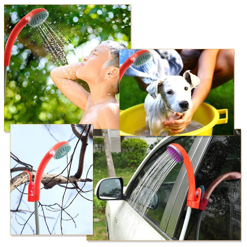 Dog Grooming Products Handheld Rechargeable Pet Shower Sprayer