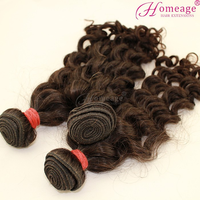 Homeage cheap remy brazilian micro braid hair extensions