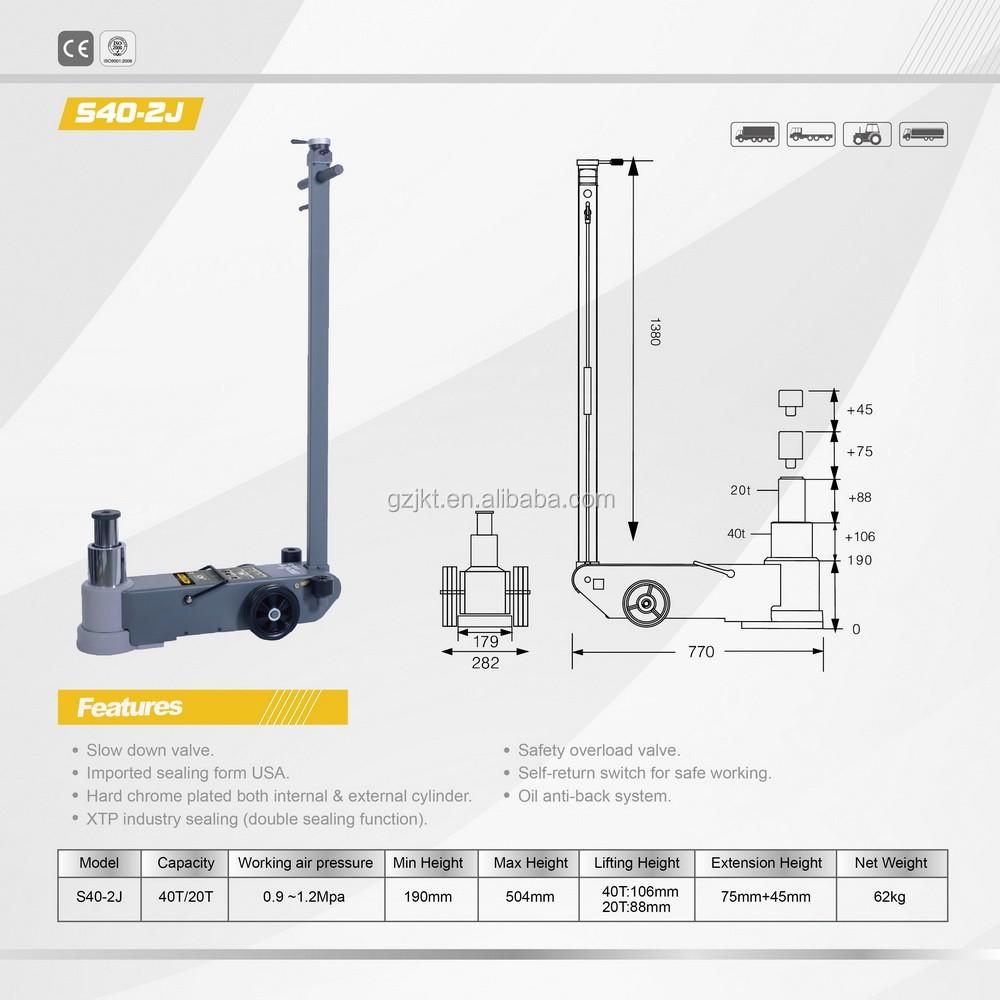 Car Lift Air Pneumatic Hydraulic Floor Jack 40T. S40-2J.jpg