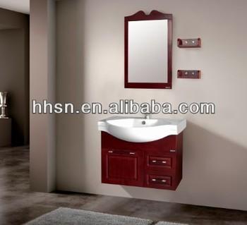 Hh87505 Modern Sanitary Ware Mirror Bathroom Cabinet With Wash ...