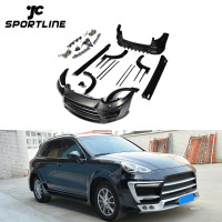 Black FRP Sport Body Kit for Porsche Cayenne 958 GTS 2015-2017