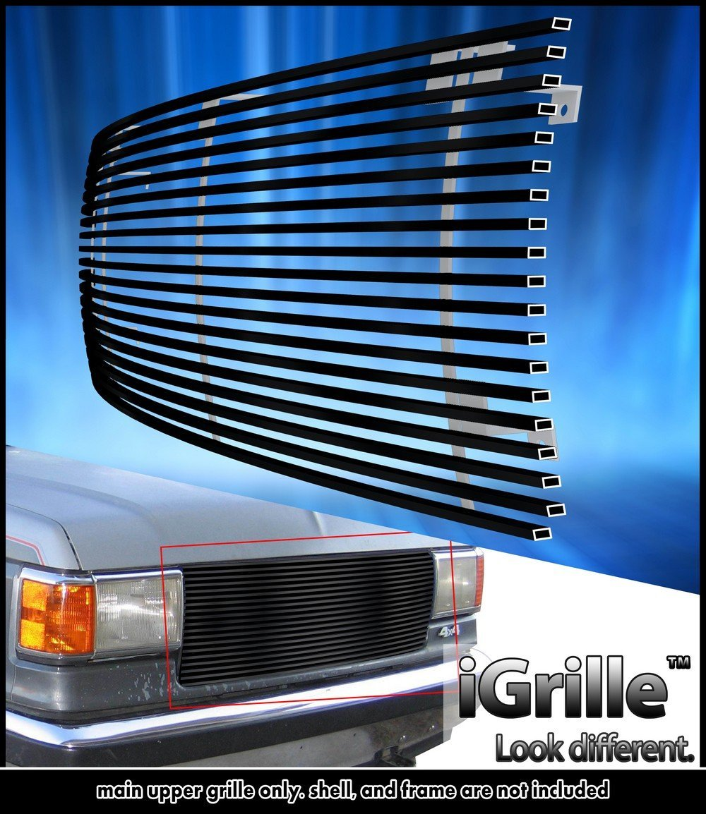 Get Quotations  C B Egrille Matt Black Stainless Steel Billet Grille Grill Fits   Ford Bronco F