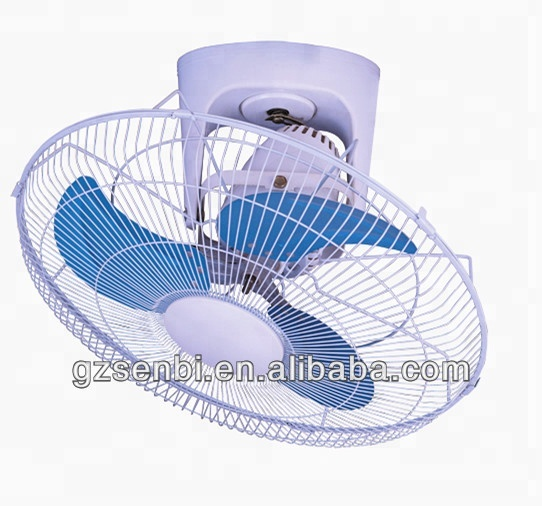 Long Life Use 18 Inch High Rotation Ceiling Fan With Iron Blade