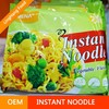 65g OEM Bag Instant Noodle With Vegetable Flavor