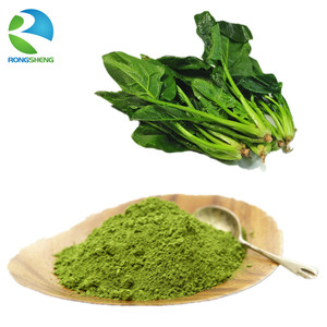 Wholesale dehydrated water organic freeze dried spinach powder