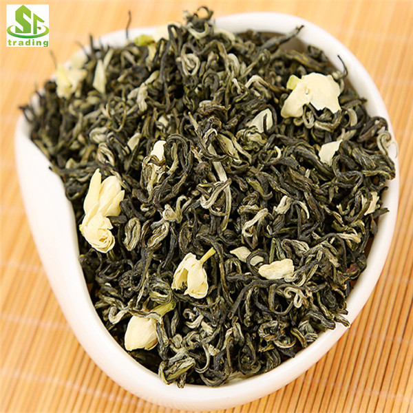 Chinese Natural Jasmine Green Tea Jasmine Scented Green Tea