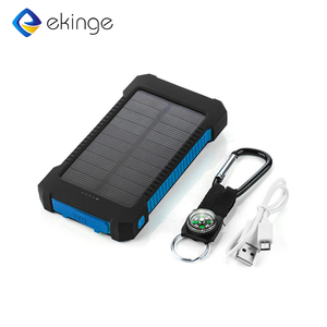 Power Bank 10000Mah,Mobile Solar Charger Cell Phone,Solar Power Bank Charger