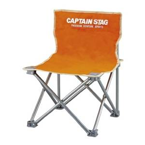 Captain Stagg (CAPTAIN STAG) palette compact chair mini orange M-3918