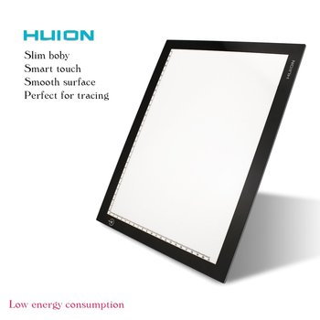 Huion Usb Computer Connected Led Light Board Tattoo Tracing Drawing Board -  Buy Light Board,Led Copy Board,Tracing Drawing Copyboard Product on