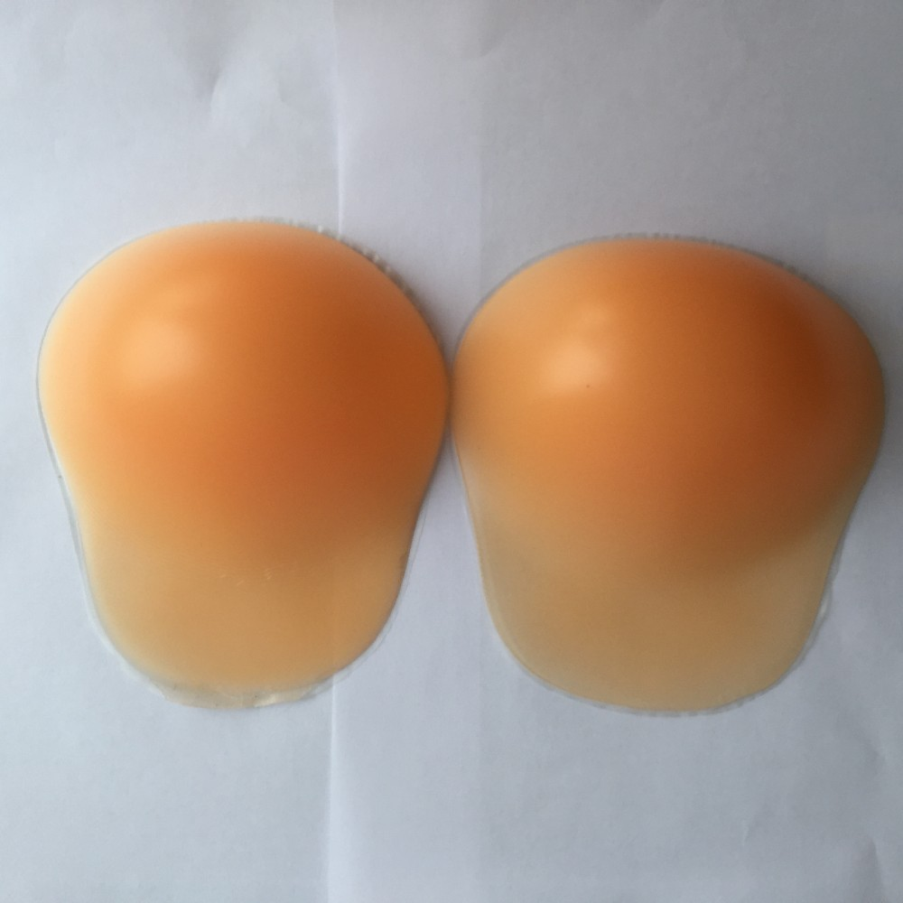 Sexy Girl Breast Enhancement Bra Plus Size Front Closure Silicone Adhesive Invisible Push Up Brassiere