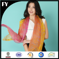 make to order digital printed stole shawl scarf china supplier