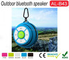 China Wholesale Oem Mini portable golf ball shape bluetooth speaker Hand-free Outdoor Bluetooth Speaker With Hook