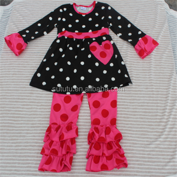 556c385844aa 2014 Fashion Baby Girl Christmas Outfit Fancy Western Girls Outfit ...