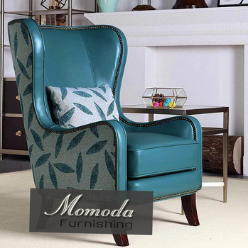 Amazing N530 American Style Vintage 1 Seater Genuine Leather Wingback Chair Buy High Quality Vintage Genuine Leather Wingback Chair American Style Leather Gmtry Best Dining Table And Chair Ideas Images Gmtryco