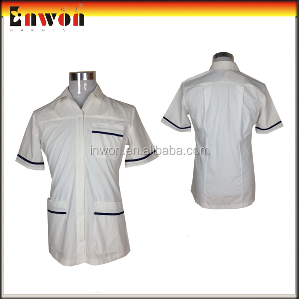 White Hospital Industry Uniforms