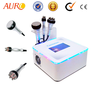 Au-40 Auro Newest Wrinkle Removal Machine / Ultrasonic+cavitation+rf Slimming Machine