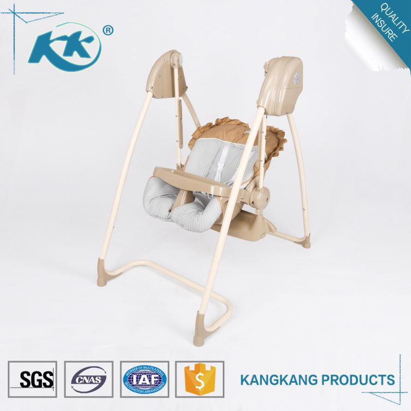 Good manufacturing various design electric cradle high chair automatic swing baby