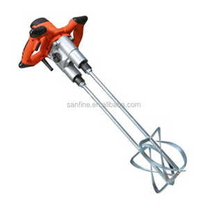 Durable Industrial Concrete Electric Pure Copper Motor Portable Hand Mixer