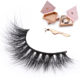 High Quality Mink Eyelash Diamond packaging private label 3D Eyelashes