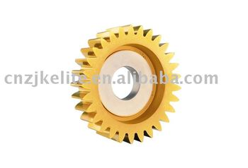 Disc-type straight-teeth gear shaping cutter