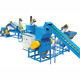 plastic waste PET bottle flakes washing drying recycling machine line