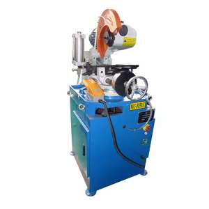 Table circular saw machine steel and stainless steel pipe square tube and rod cutting machine YJ275B