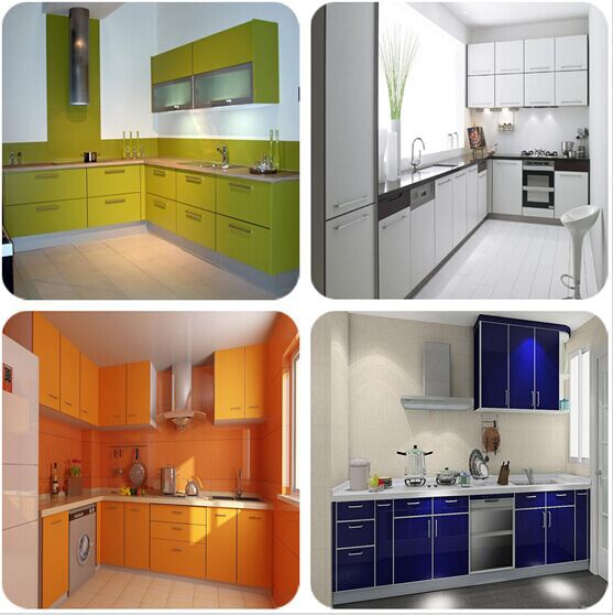 Laminate Sheet Kitchen Cabinet Color Combinations - Buy Plastic ...