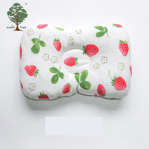 Muslin tree newborn breathable muslin baby head shaping pillow