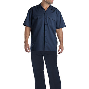 OEM Short Sleeve Shirts And Trousers Uniforms Working For Mechanics Sell well in North America