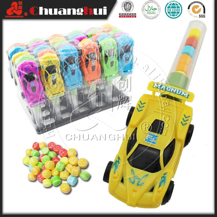 2015 new plastic children candy toy Racing Car