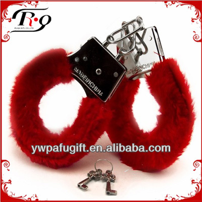 Plush Handcuff For Hen Night Party Item