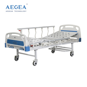 AG-BMS101A implanted siderail 2 function crank medicare manual adjustable medical therapy metal hospital bed price
