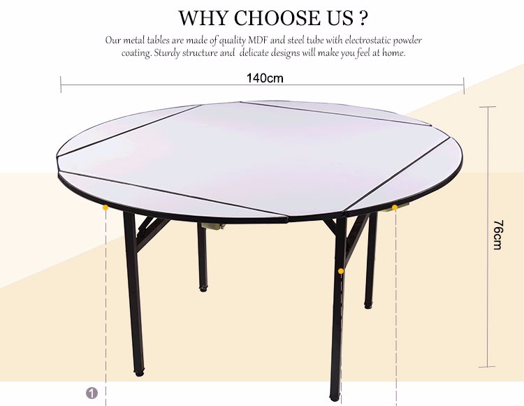 Multipurpose folding round square round folding tables for - Table cuisine retractable ...