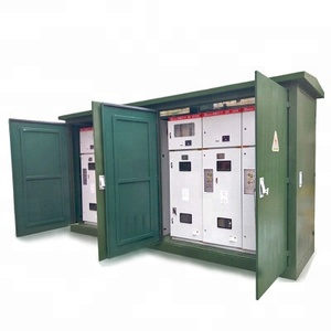 Outdoor metal cable distribution box 12kv power switchgear cabinet