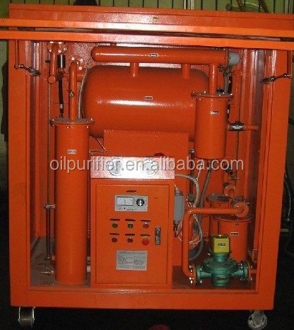 Zhongneng Portable type vacuum insulating/Transformer oil purification plant