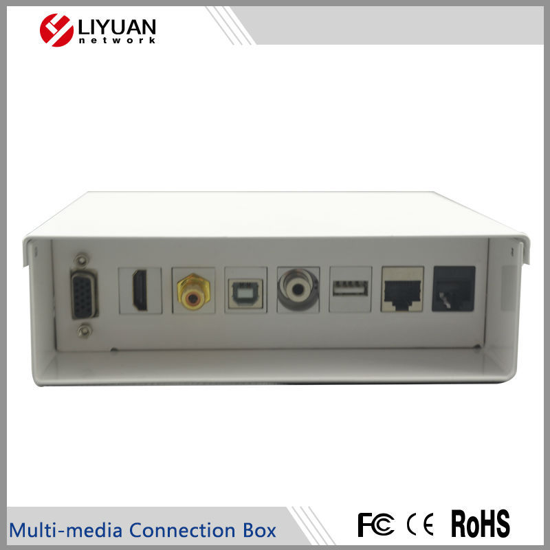 Ly-tm111 Multi-media Verbindung Box Mit Usb/hdmi/rca/bnc/3,5/rj45 ...