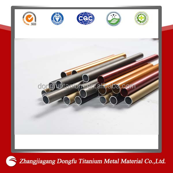 high quality 7075 t6 aluminium alloy tubes made in China