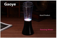 Gaoye Portable Bluetooth mini Speakers Real Dancing Water Speaker With Led Light Music Fountain Spray Dance Support TF Card MP3